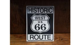 """Historic Route 66"" Sign image"