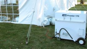 Image of a Tent Heater