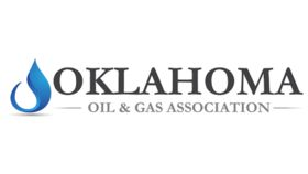 Image of a 2' Branded Spandex Square - OK Gas Association