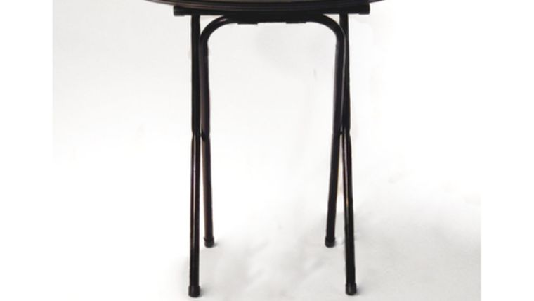 Picture of a Black Tray Jack Stand
