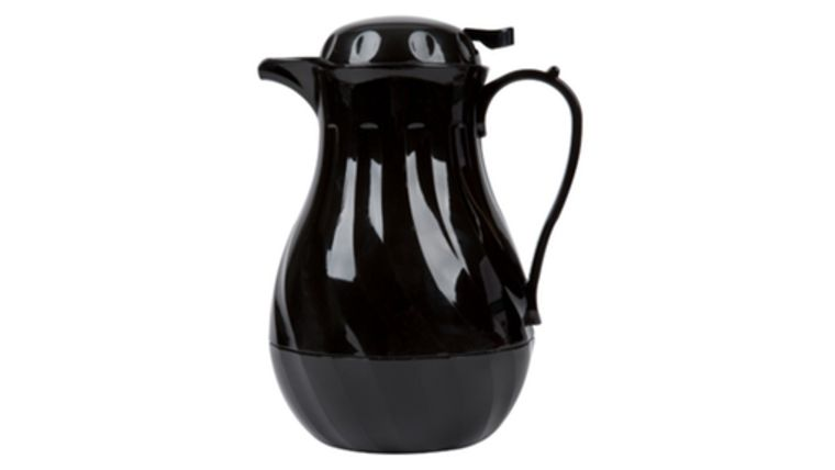 Picture of a Black Insulated Coffee Carafe