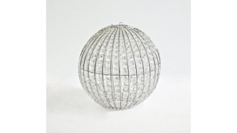 "Picture of a 14"" Crystal Gem Globe Chandelier"