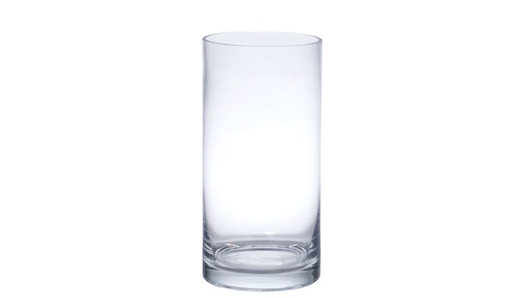 """Picture of a 10"""" Clear Cylinder Vases"""