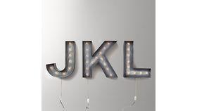 Image of a Vintage Illuminated Letter (K)