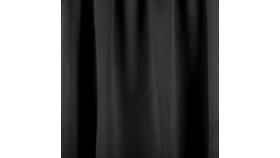 Image of a 12' Black Velour Drape Panel