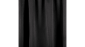 Image of a 16' Black Velour Drape Panel