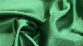 Image of a Emerald Satin Drape Panel - 16'