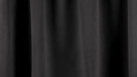 Image of a 24' Black Velour Drape Panel