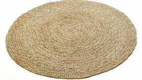 Image of a 5' Round Rug - Jute