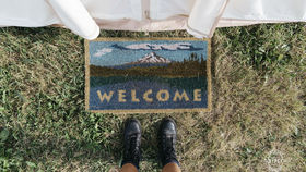 Image of a Doormat for Entry