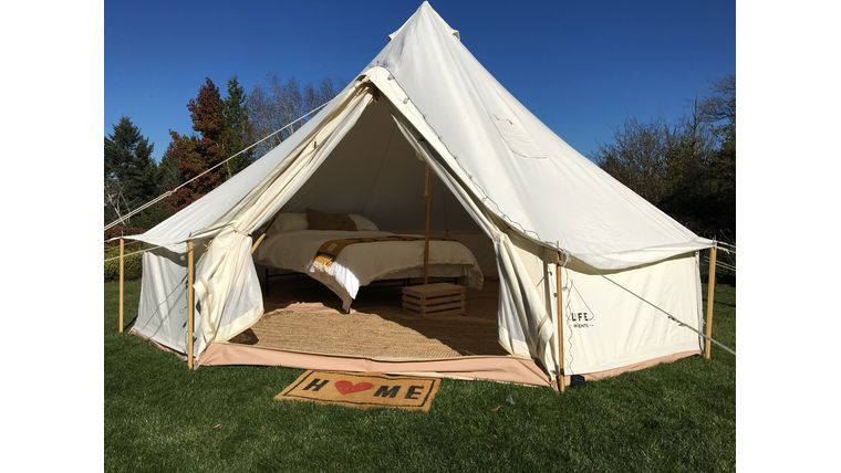 Picture of a SILVER Furnishing and Tent Package (1 bed)