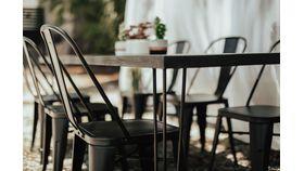 Black Modern Dining Table image
