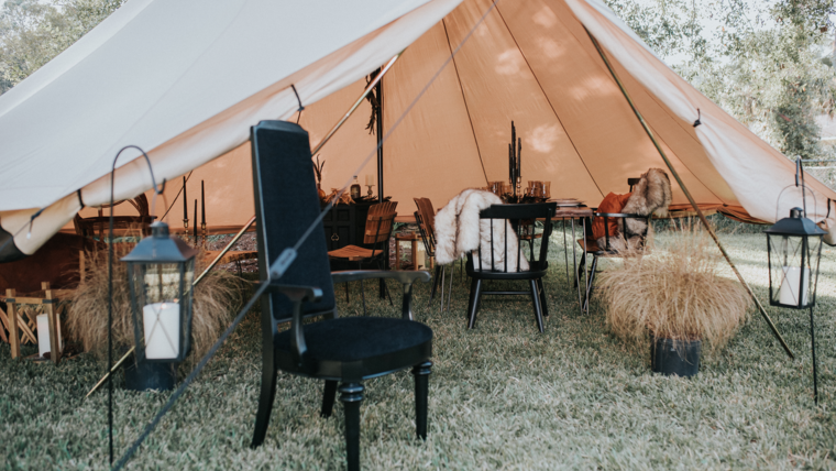 Picture of a Bell Tent