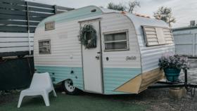 Image of a Vintage Camper