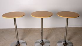 Image of a Round High Boy Tables