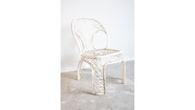 Image of a White Garden Chairs