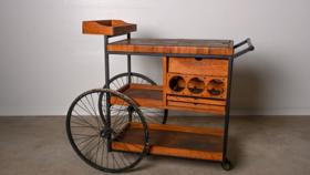 Image of a Vintage Wooden Cart