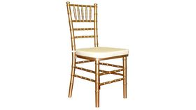 Image of a GOLD CHIVARI CHAIR