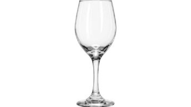 Picture of a 10 oz wine glass