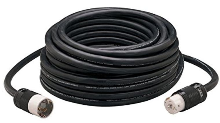 Picture of a 100 foot distro cable