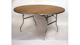 Image of a 72 round table