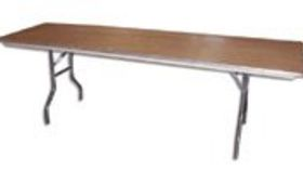 Image of a 8  ft x 42 inch  Rectangle table.