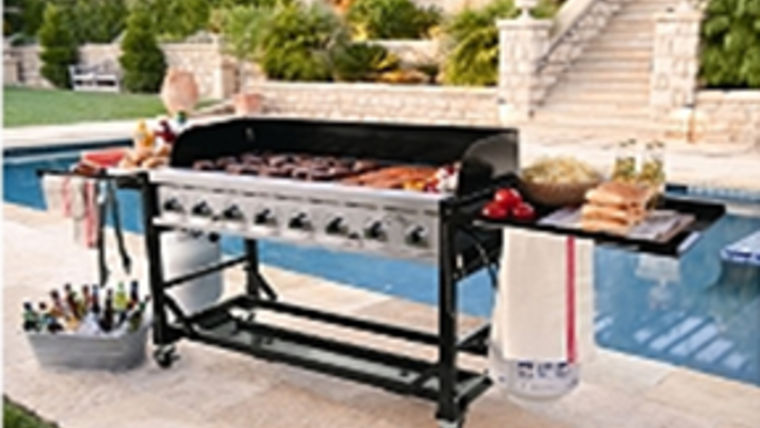 Picture of a 5 Ft propane grille