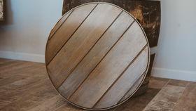 Image of a Wine barrel top
