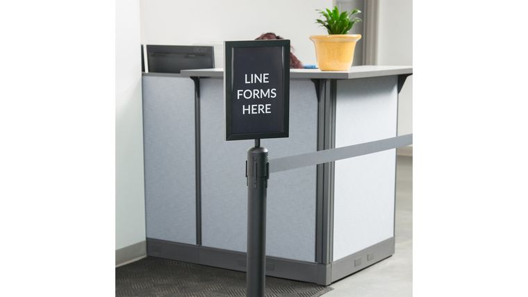 Picture of a Signage  Holder