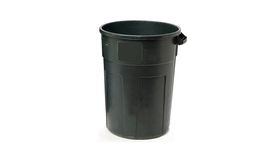 Image of a 33 Gallon Garbage can.
