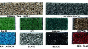 Image of a Black Turf. Per ft.