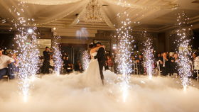 Image of a Dry ice 1st dance.