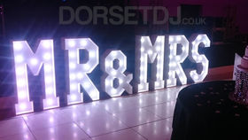 Image of a MR & MRS sign