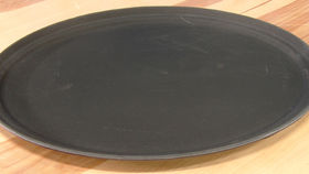 Image of a Bus oval tray 27 inch.