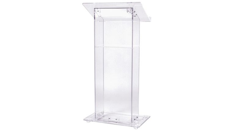 Picture of a Clear podium