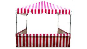 Image of a 8 x 8 carnival booth.