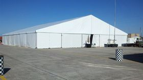 Image of a 3 x  5  meter solid sidewall (10 x 16 feet)