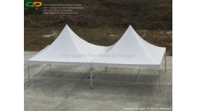 Image of a 30 High peak tent gutter