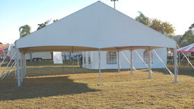 Image of a 30 x 20 Jumbo trac  white mid