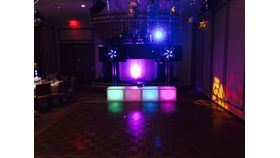 Image of a DJ / MC one man package deal wedding.