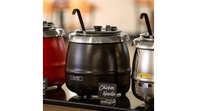 Image of a Soup kettle warmer