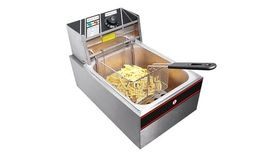 Image of a Electric table top fryer.