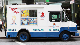 Image of a Ice cream truck one hour  unlimted servings.