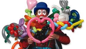 Image of a Walk around balloon  sculpter
