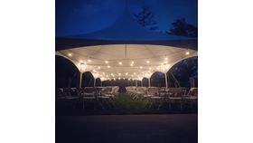 Image of a Tent Lighting