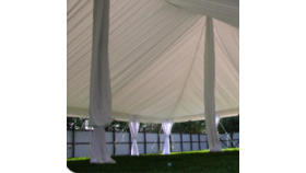 Image of a Center Pole Drape - 22' Tent Pole