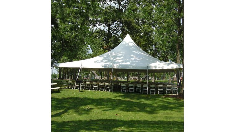 Picture of a Premiere Tent - 40'x40'