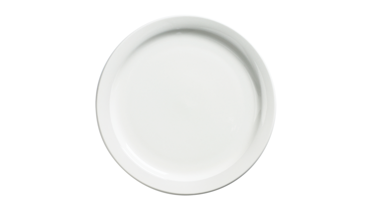 Picture of a Dinner Plate