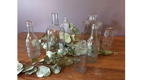 Image of a Clear Bottles Large
