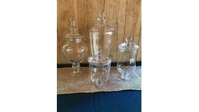Image of a Apothecary jars, large